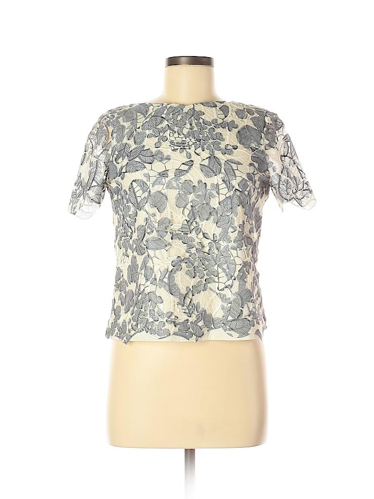 Tory Burch Women Short Sleeve Blouse Size 2