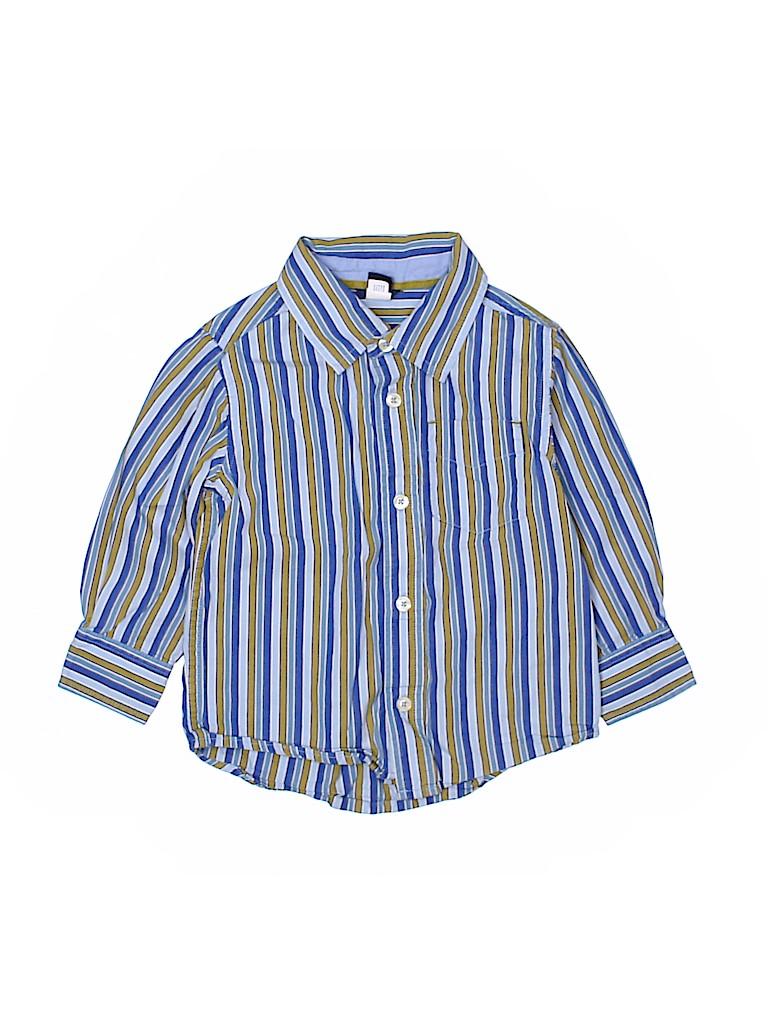 Baby Gap Boys Long Sleeve Button-Down Shirt Size 3T