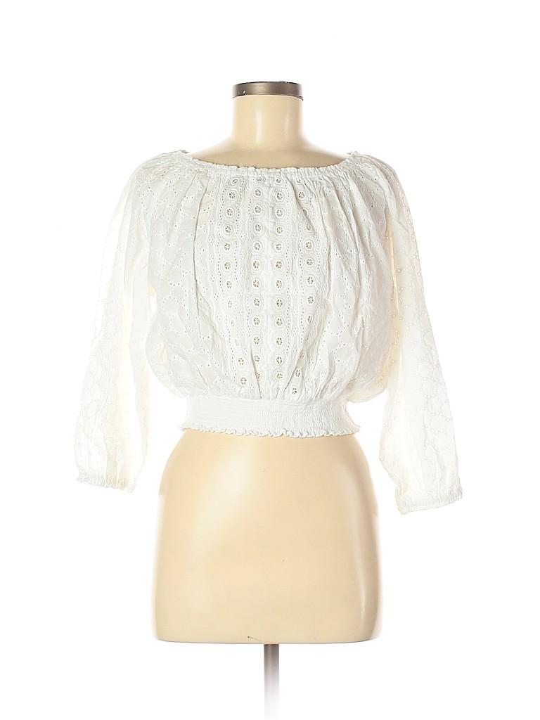 Melissa Odabash Women 3/4 Sleeve Blouse One Size