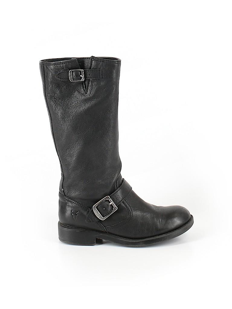 FRYE Boys Boots Size 1 1/2