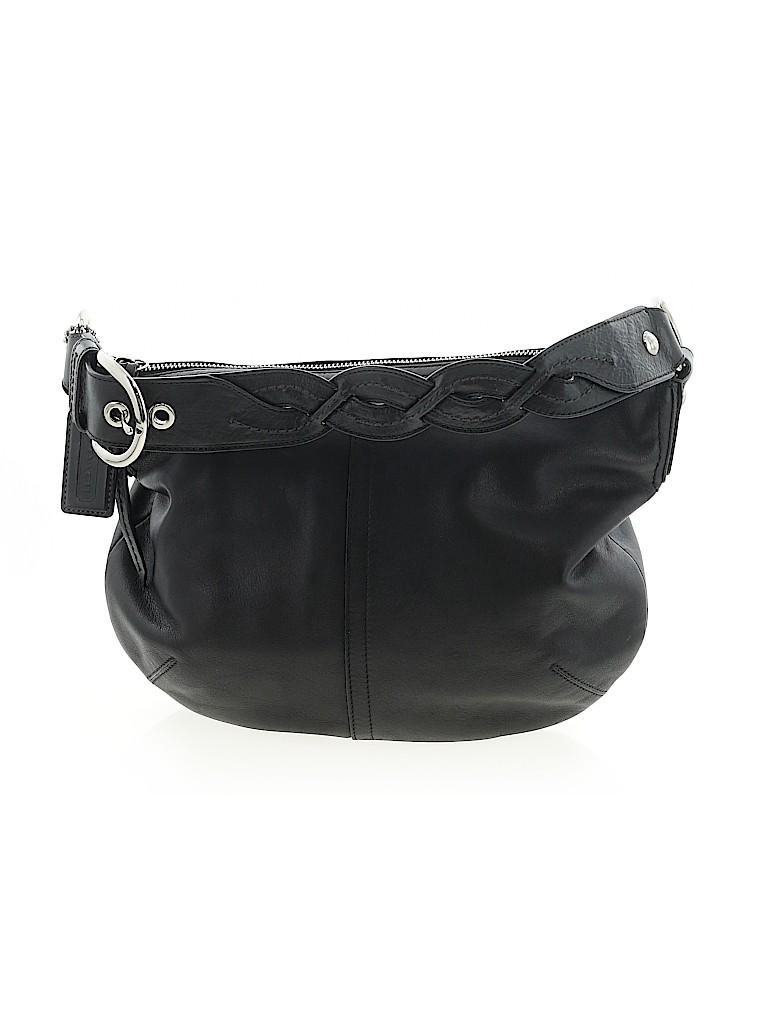 Coach Factory Women Leather Shoulder Bag One Size