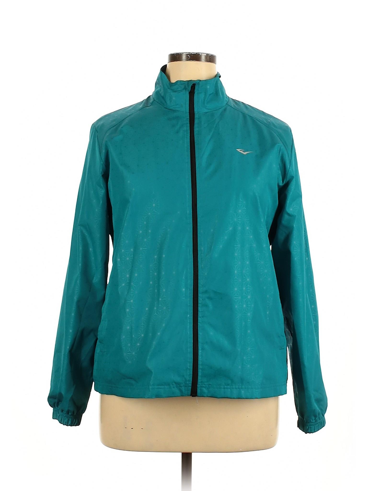 Everlast Hooded Light Windbreaker Jacket  Womens Size