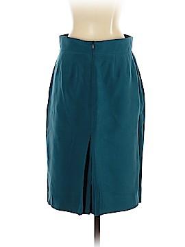 Dress Barn Silk Skirt - back