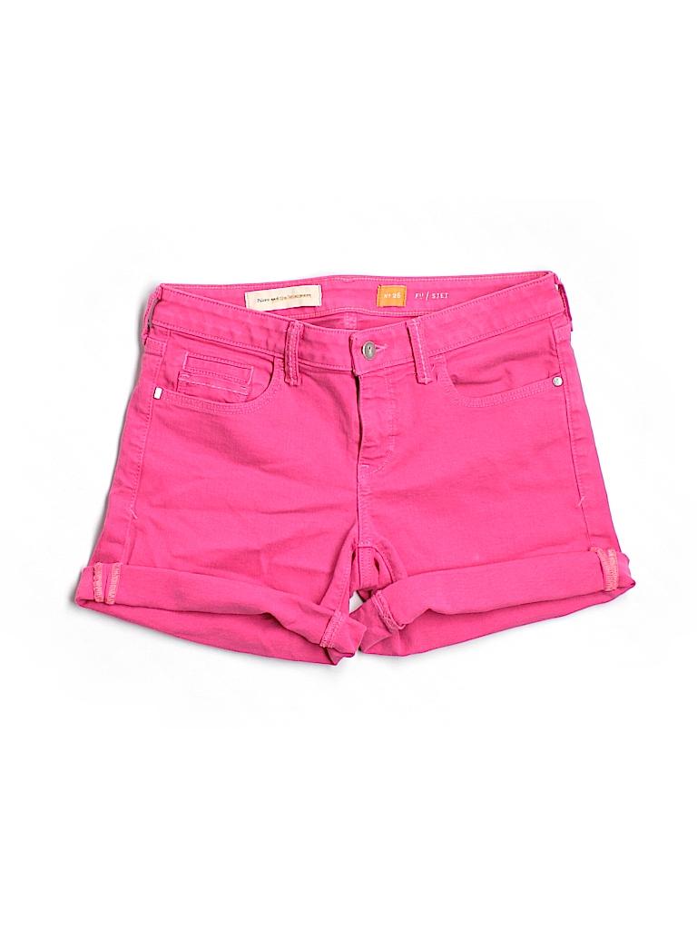 Pilcro and The Letterpress Women Denim Shorts 26 Waist
