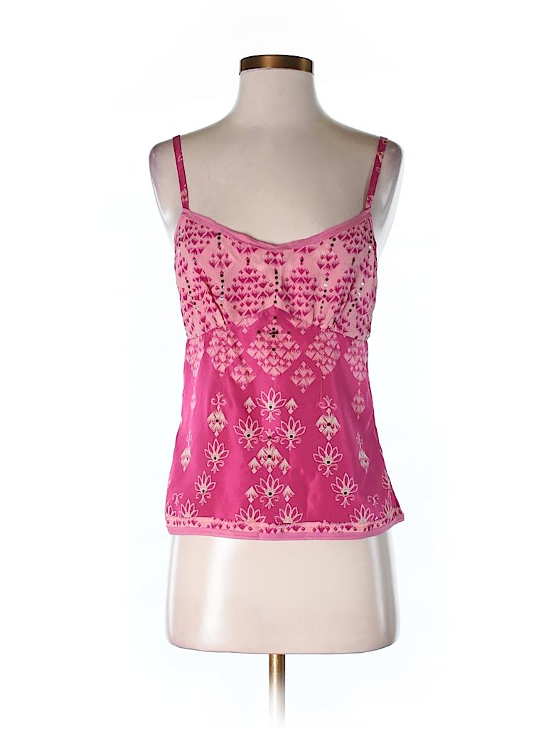 Gap Women Sleeveless Silk Top Size S