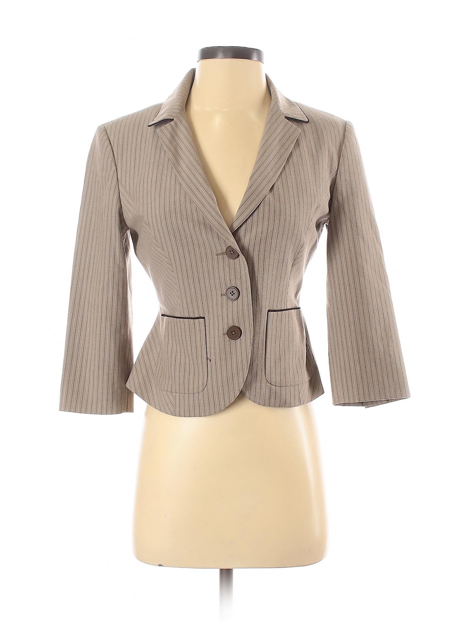 Express Design Studio De Mujer Blazer 2 Marron Ebay