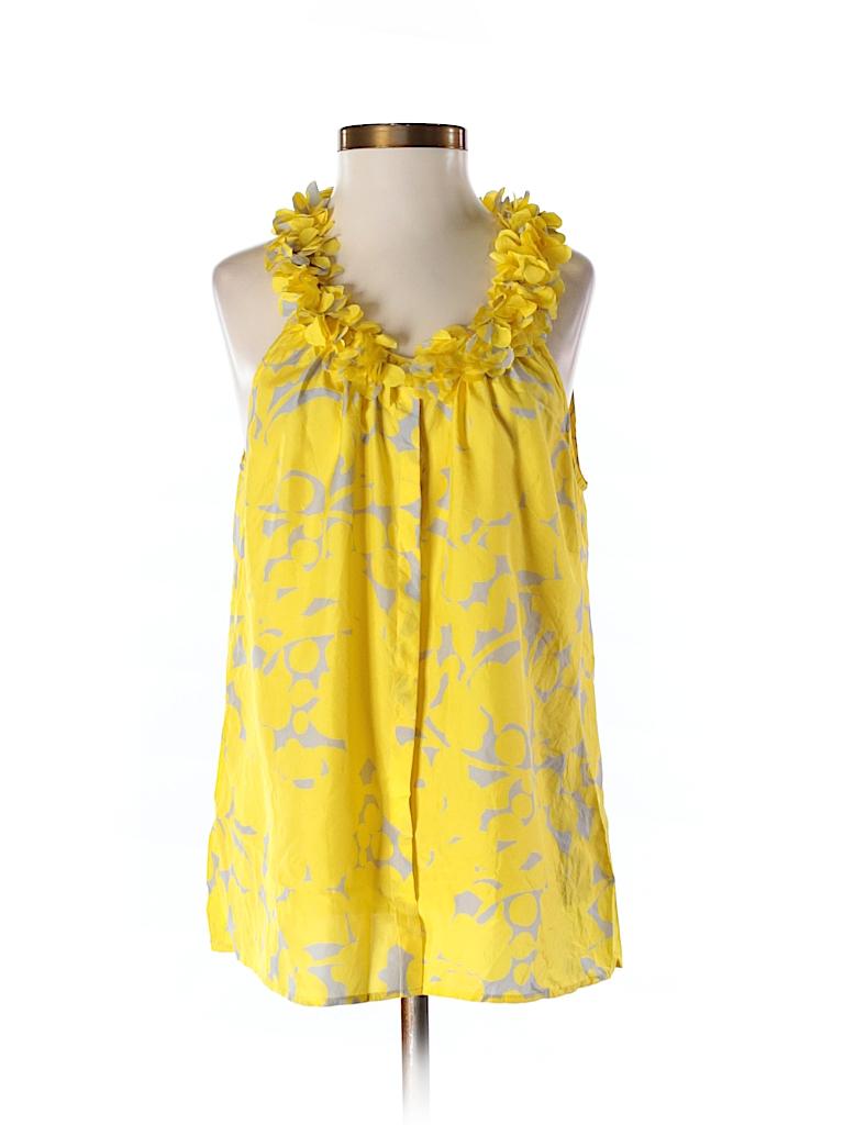 J. Crew Factory Store Women Sleeveless Silk Top Size 5