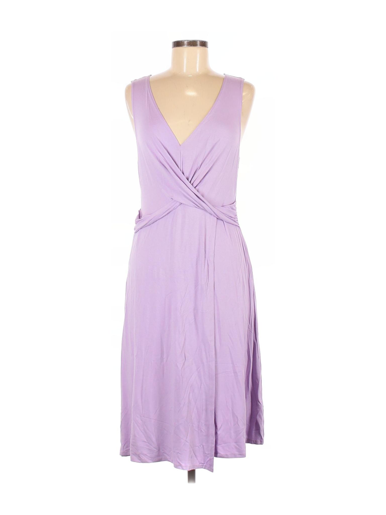 O Quarto Vanity Feminino Vestido Casual Roxo M Ebay