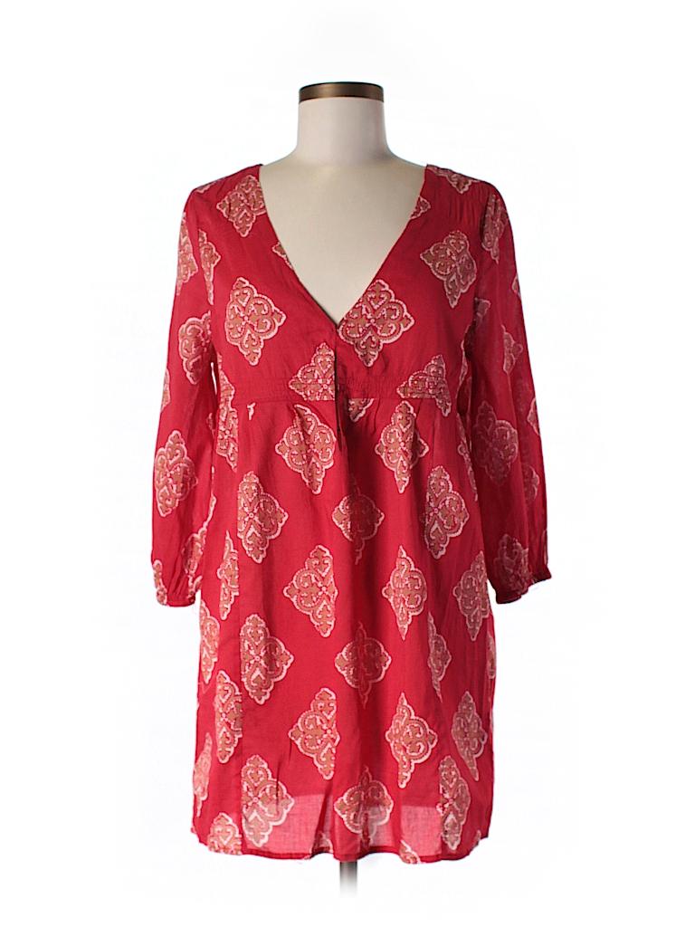 Joie a La Plage Women 3/4 Sleeve Blouse Size M