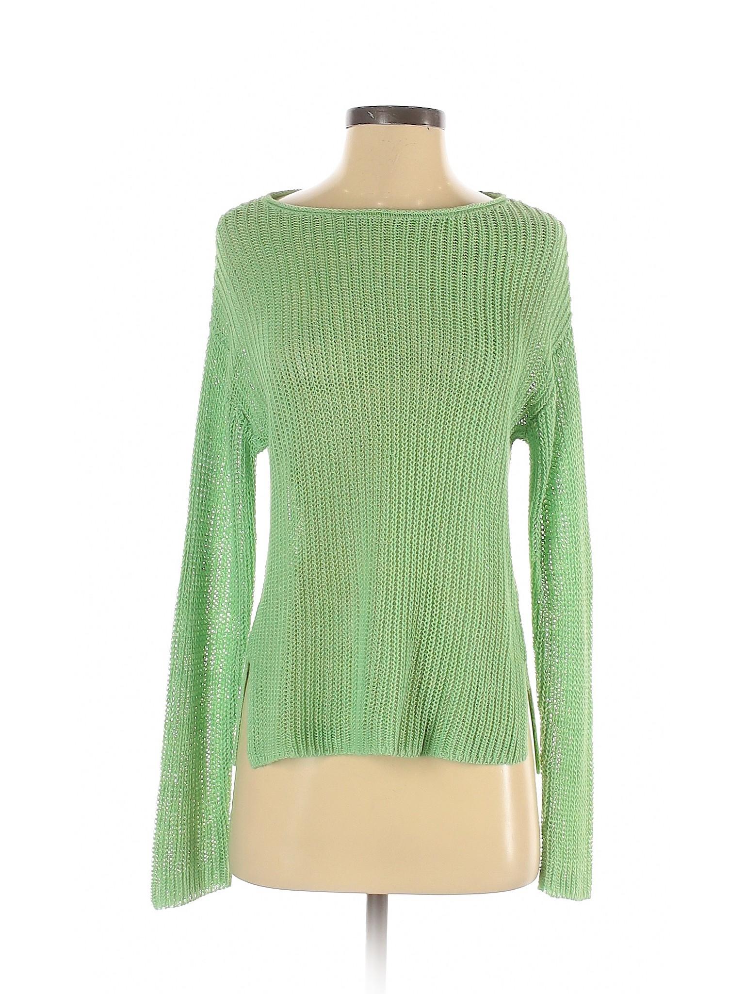 Details about J.jill Women Green Pullover Sweater S