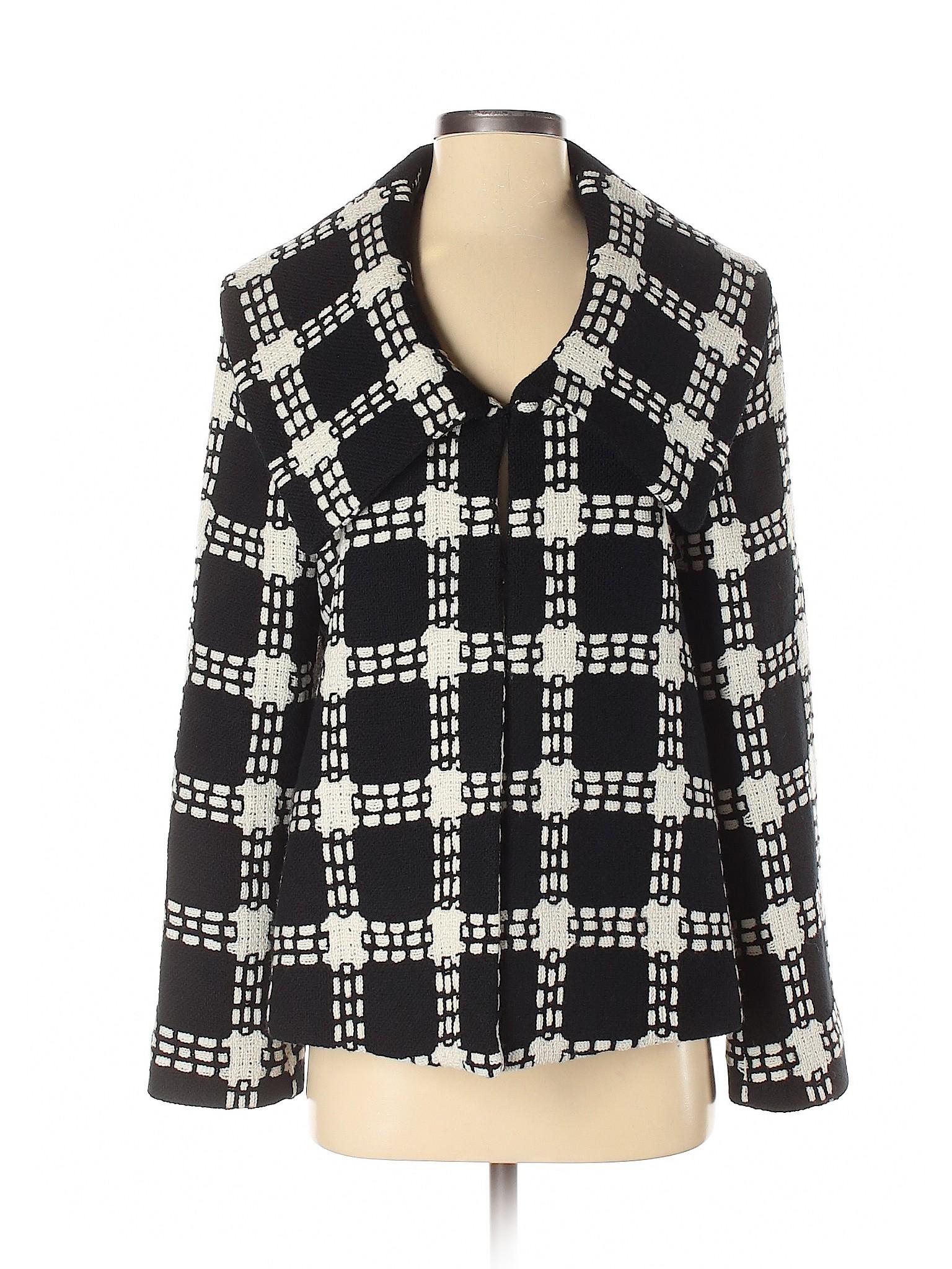 Austin Reed Women Black Wool Coat 12 Ebay