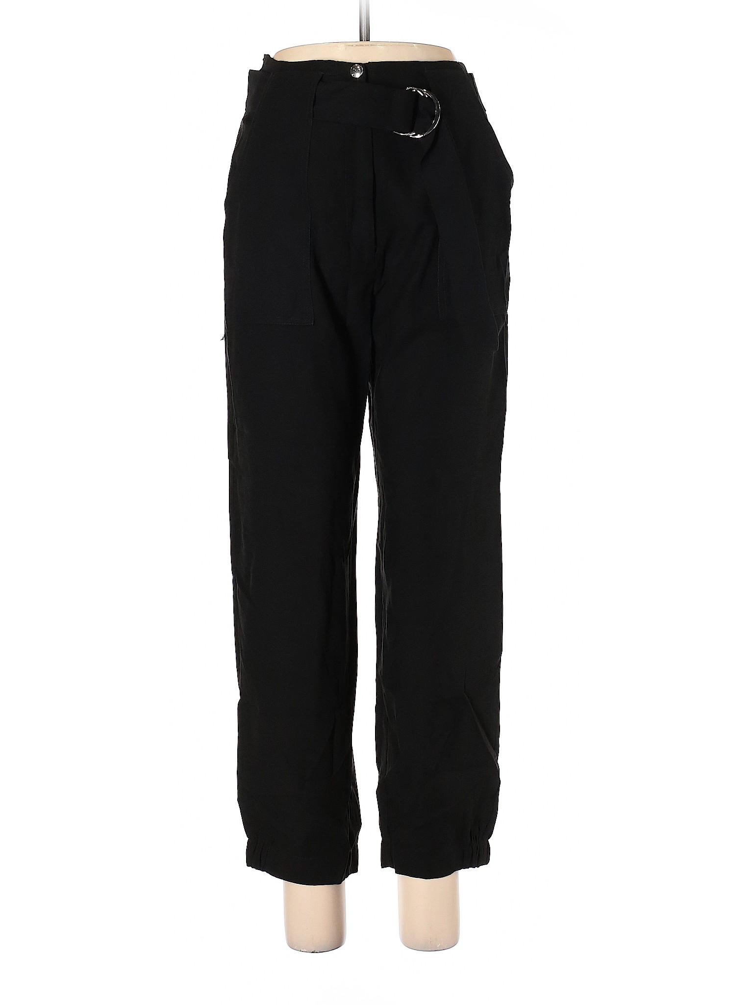 Pull & Bear Women Black Casual Pants L | eBay