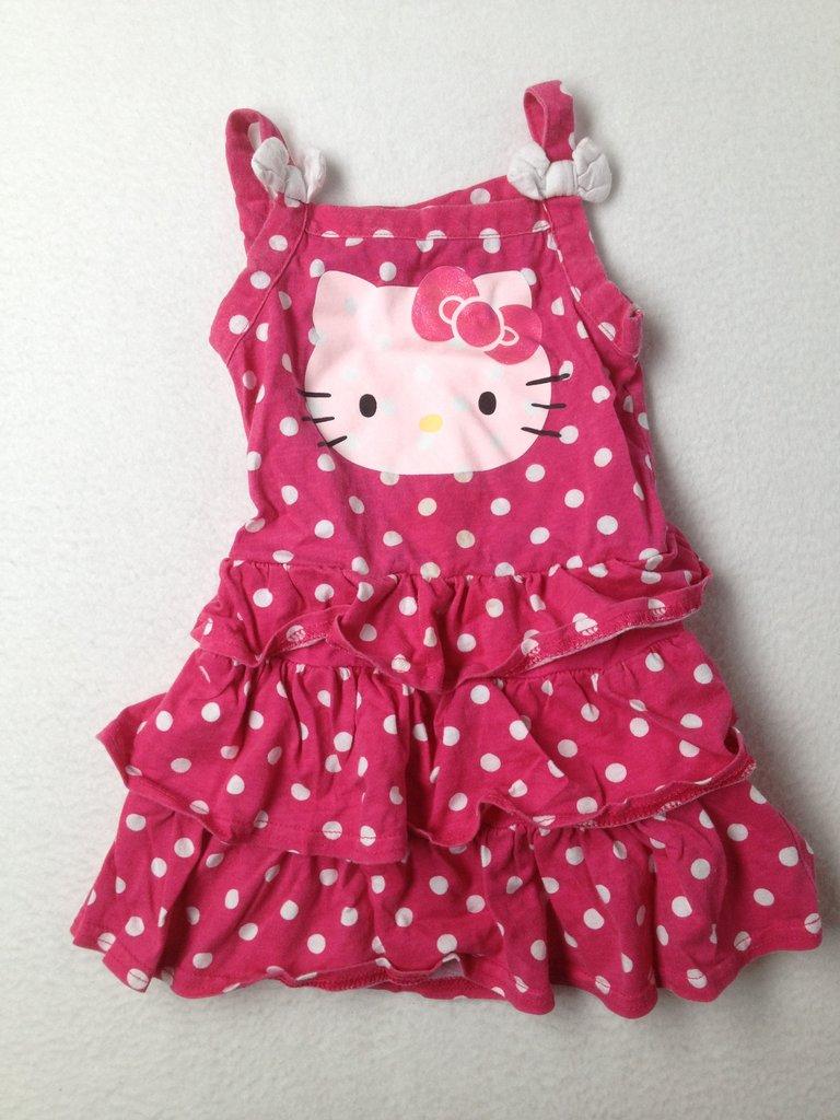 Hello Kitty Girls Dress Size 2T