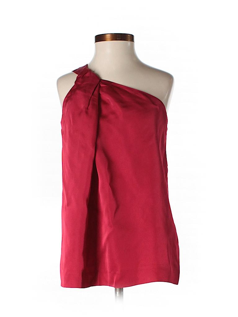 Theory Women Sleeveless Silk Top Size P