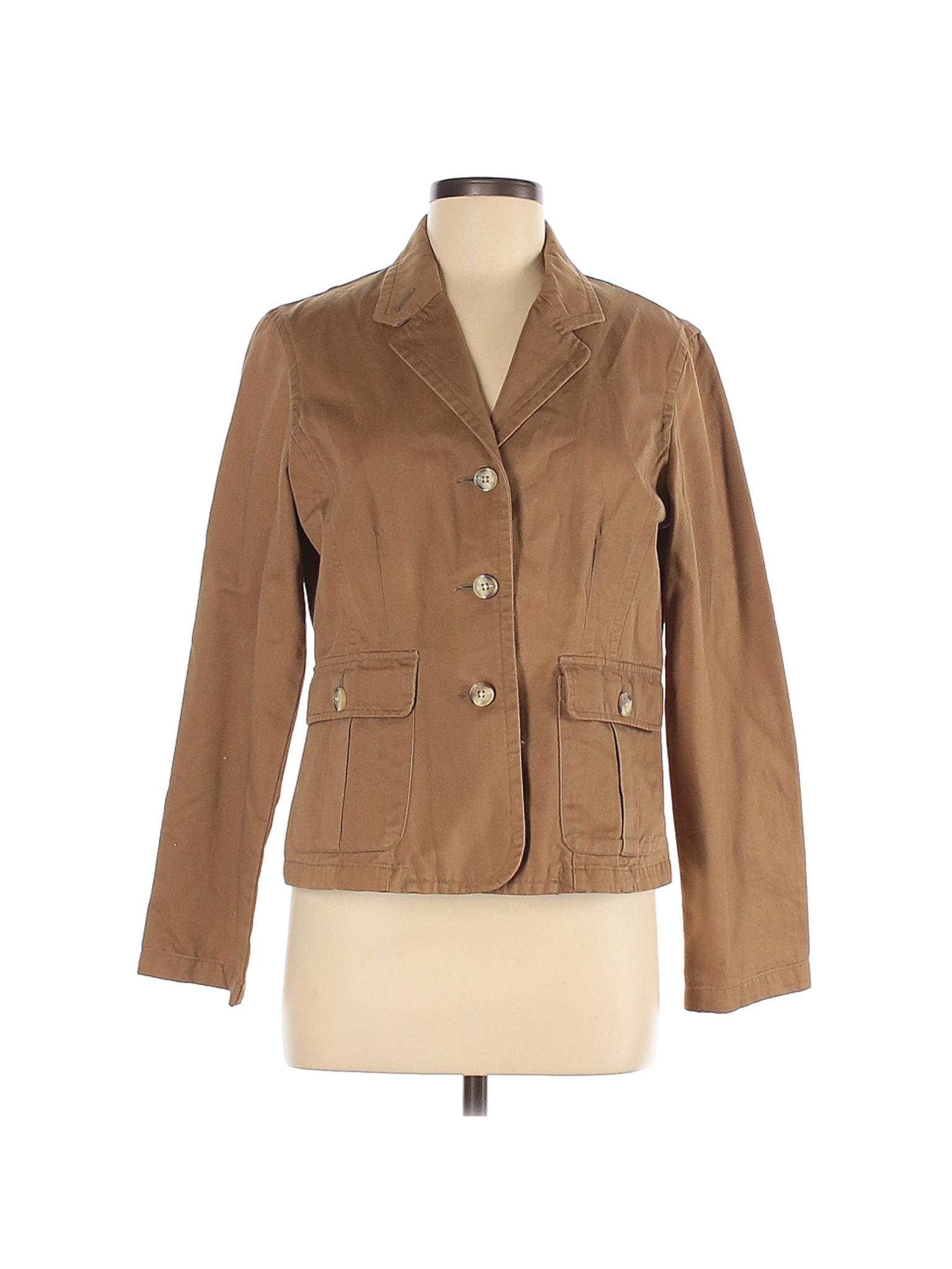 Van Heusen Women Brown Jacket M   eBay