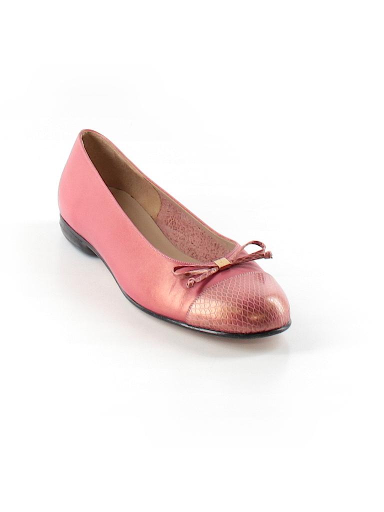 Salvatore Ferragamo Women Flats Size 6 1/2