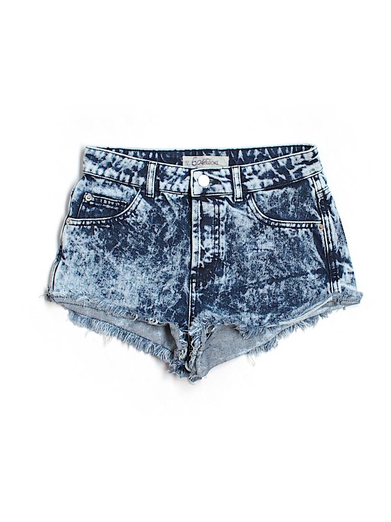 Topshop Women Denim Shorts Size 6