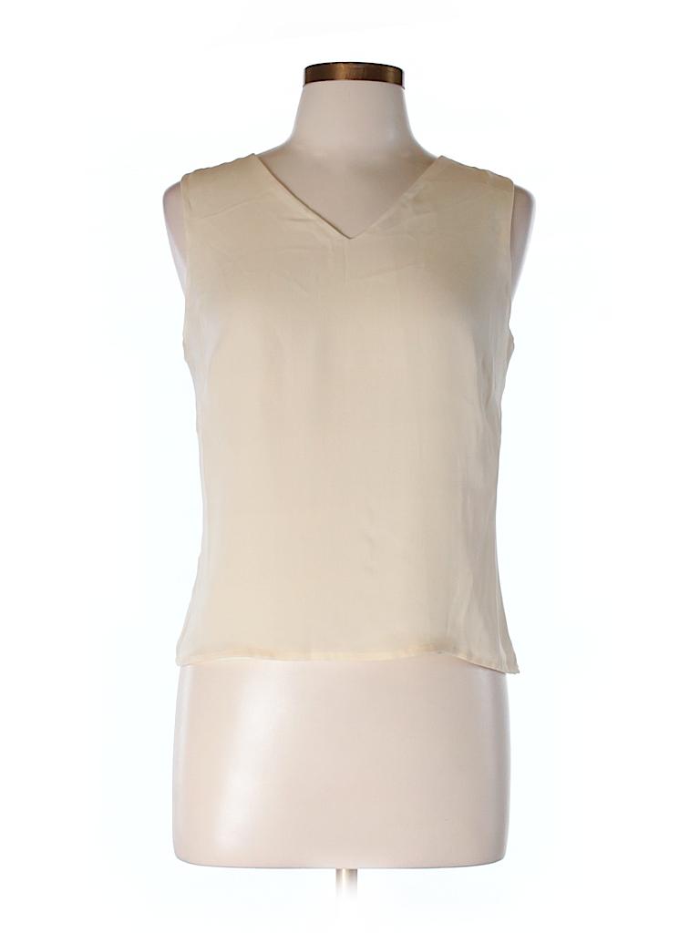 Ann Taylor Women Sleeveless Silk Top Size 10