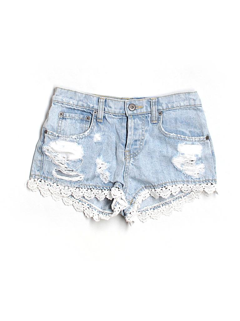 Car Mar Women Denim Shorts 24 Waist