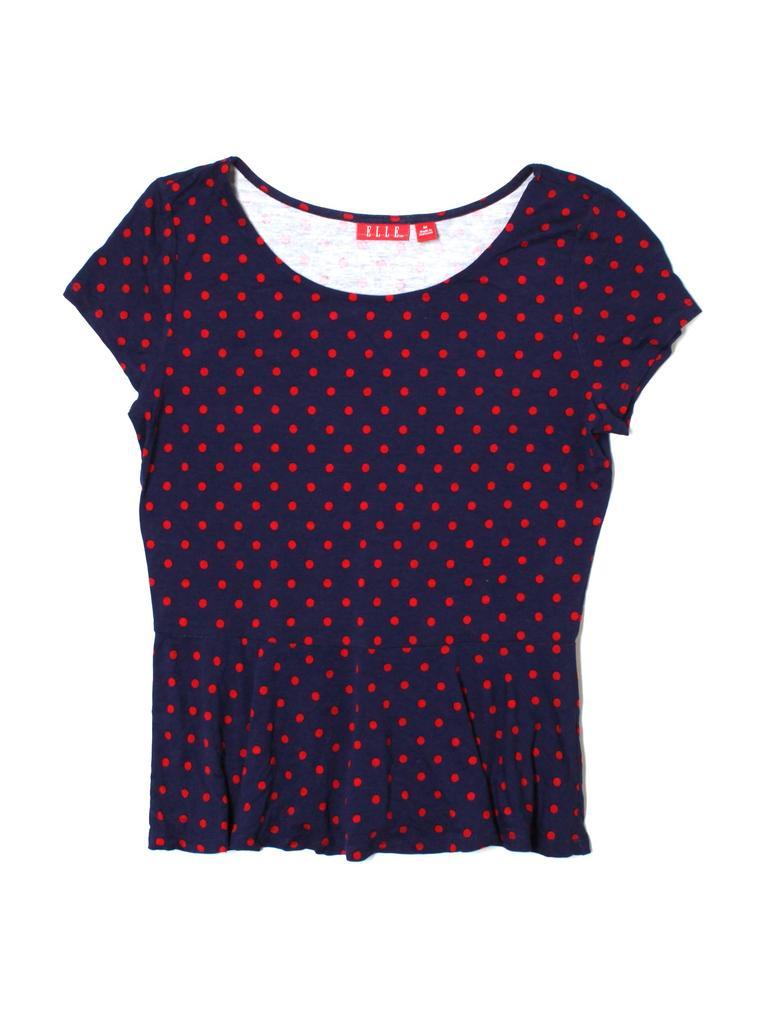 Elle Women Short Sleeve T-Shirt Size M
