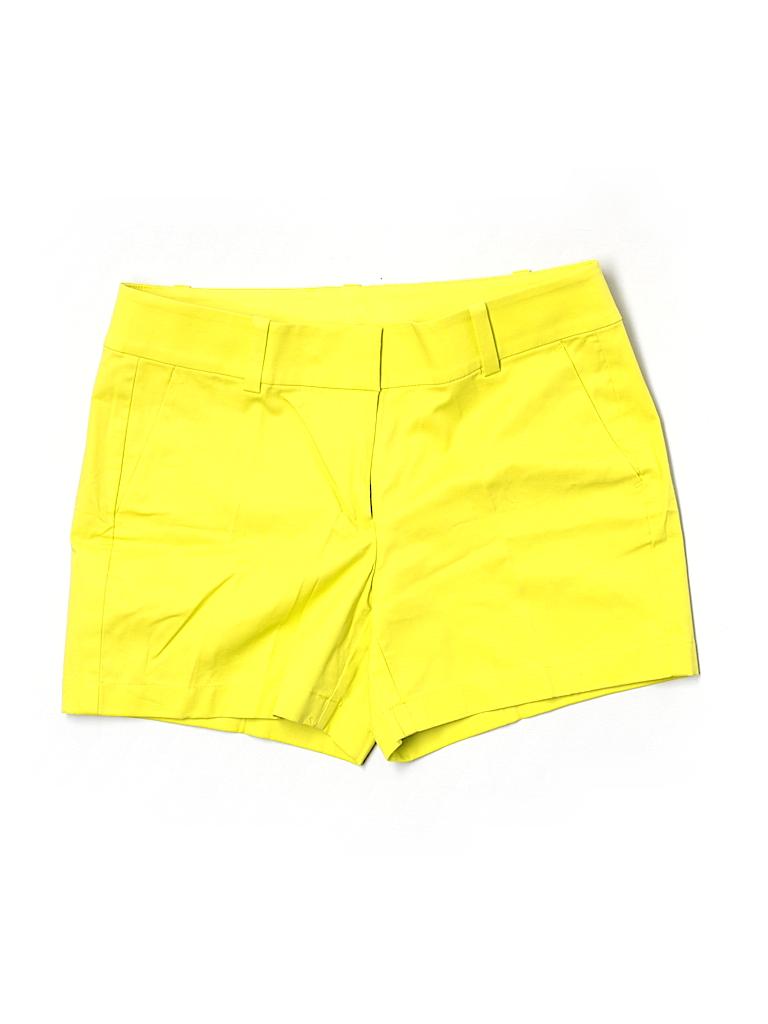 Ann Taylor Women Khaki Shorts Size 4