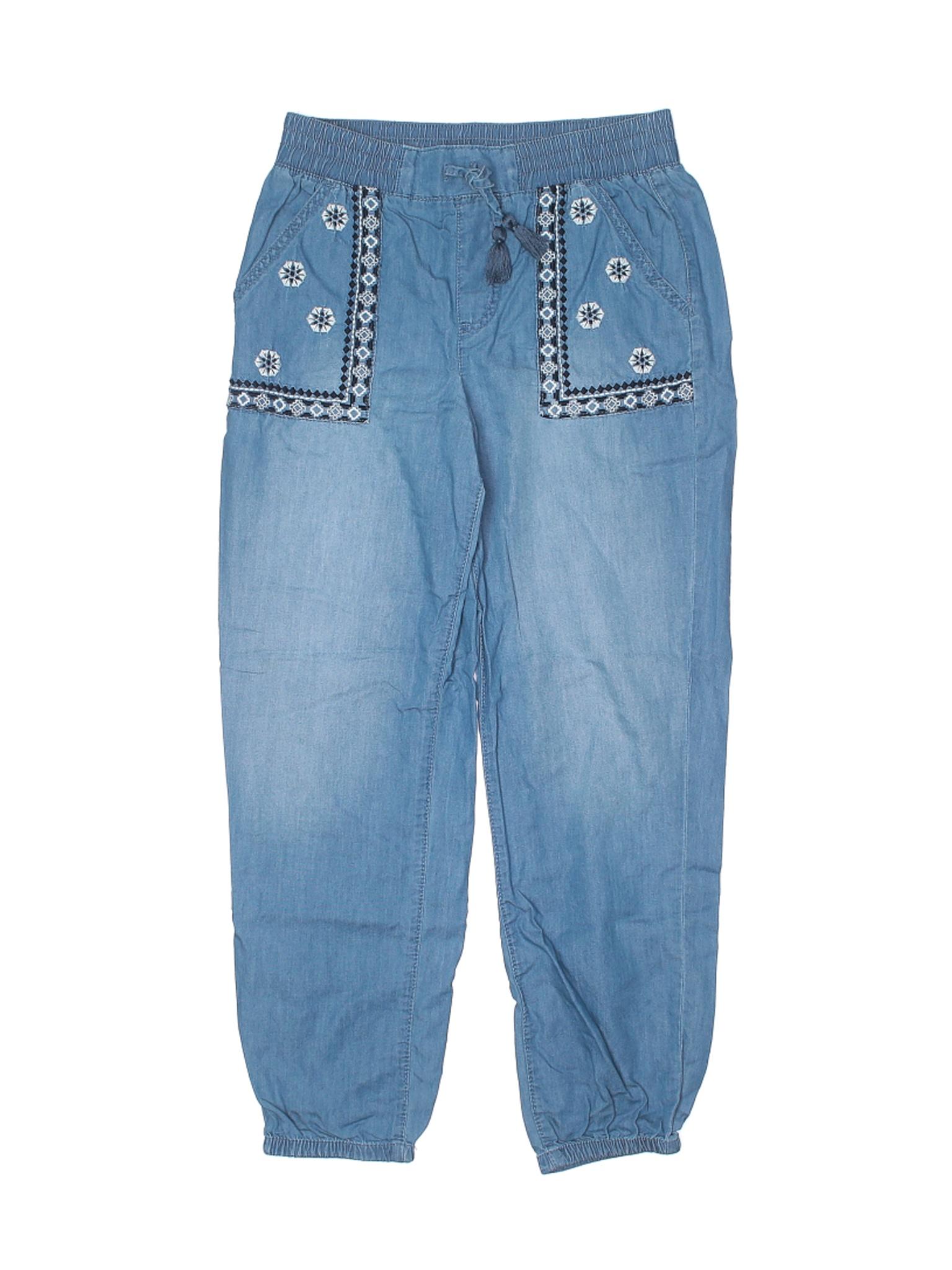 Arizona Jean Company Ninas Azul Pantalones Informales 12 Ebay