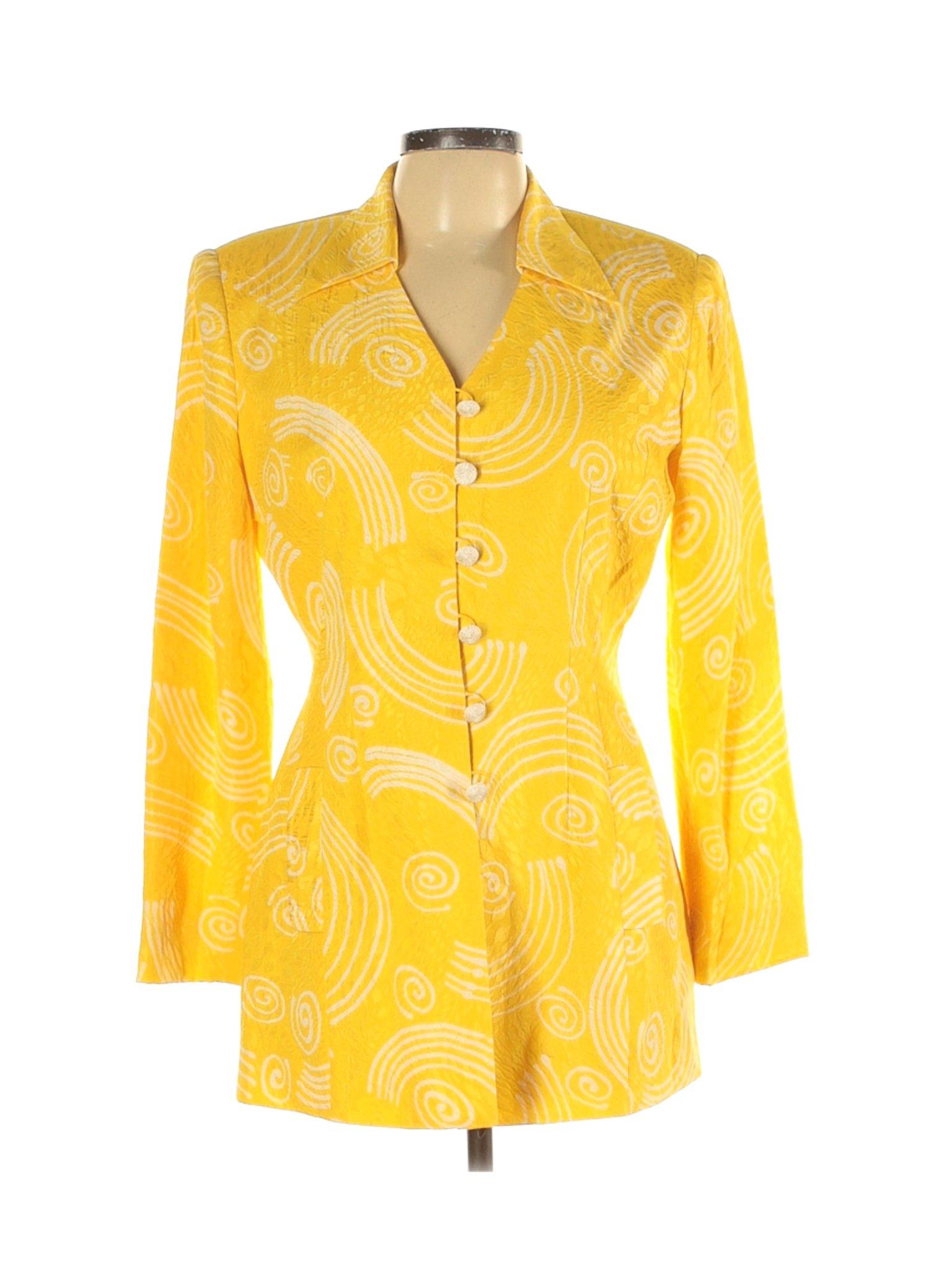 Vintage 1980s Anne Crimmins for Umi silk blazer