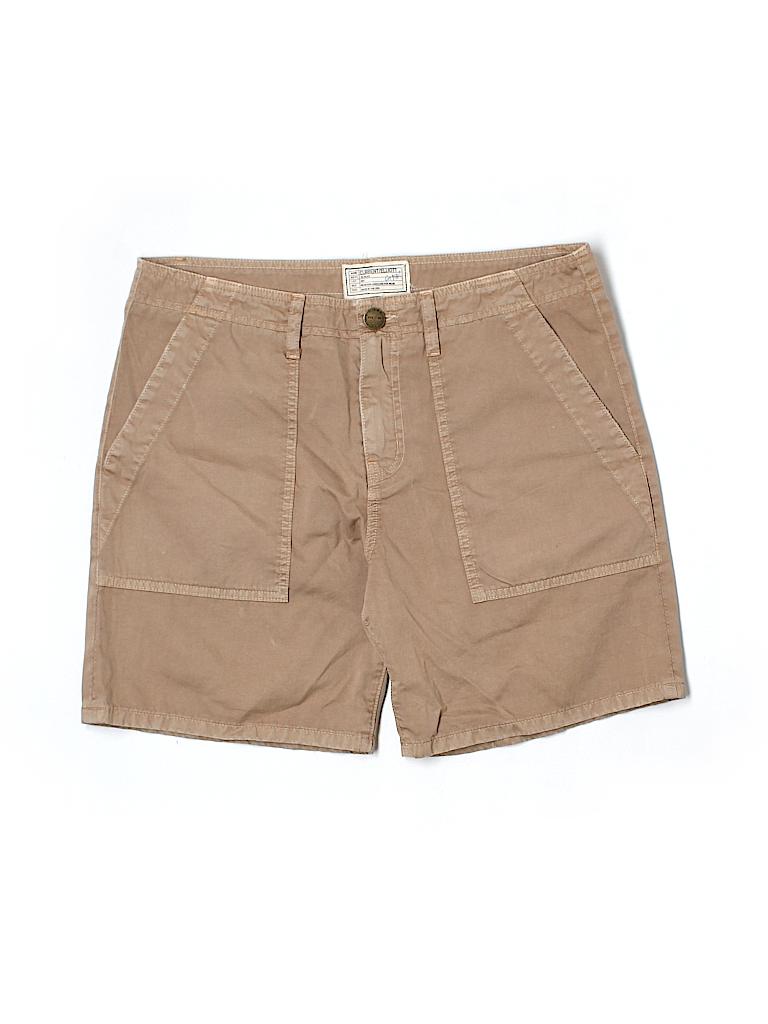 Current/Elliott Women Khaki Shorts Size Sm (1)
