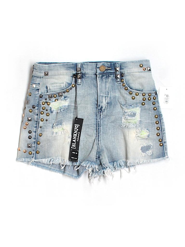 Blank NYC Women Denim Shorts 25 Waist
