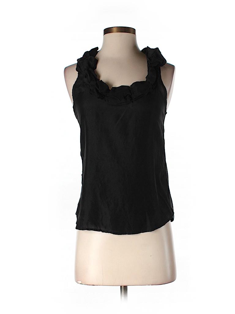 Splendid Women Sleeveless Silk Top Size S