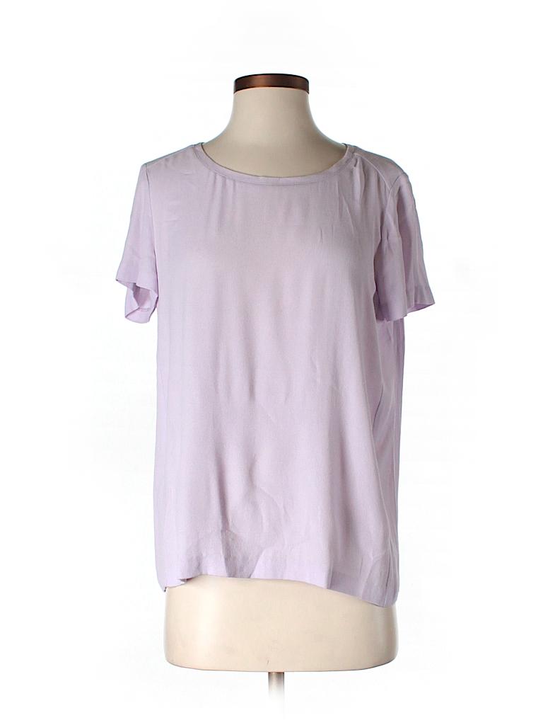 Club Monaco Women Short Sleeve Blouse Size S