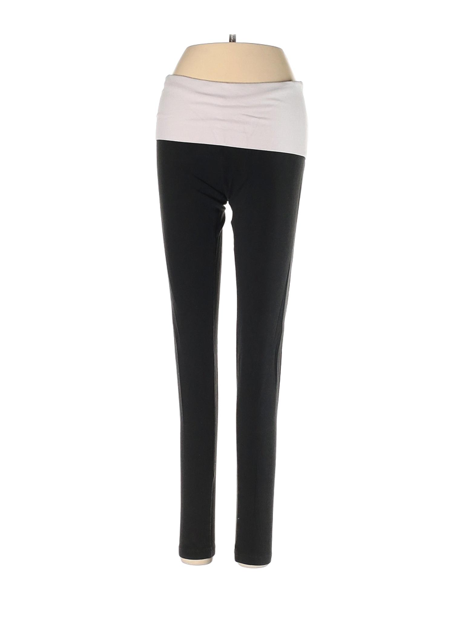 Victoria S Secret Rosa Negro De Mujer Pantalones De Yoga Xs Ebay