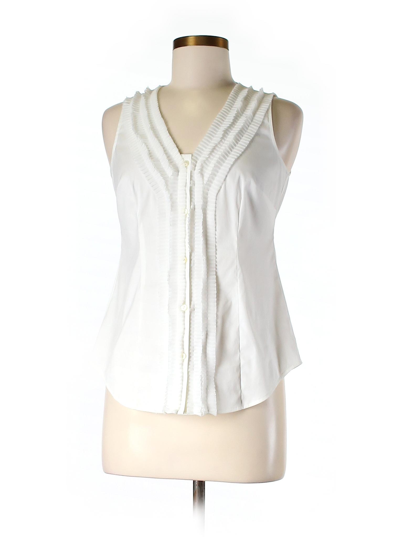 Ann taylor sleeveless button down shirt 75 off only on for Sleeveless cotton button down shirts