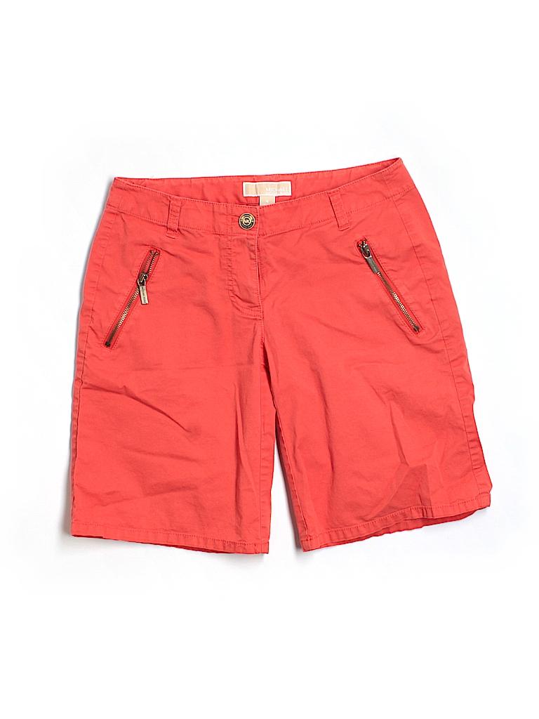 MICHAEL Michael Kors Women Khaki Shorts Size 4