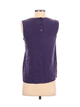 Casual Corner Sleeveless Silk Top - back