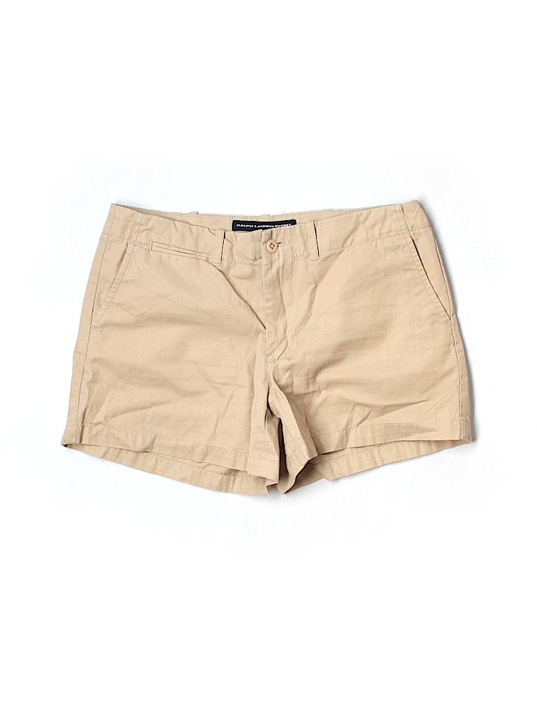 Ralph Lauren Sport Women Khaki Shorts Size 2