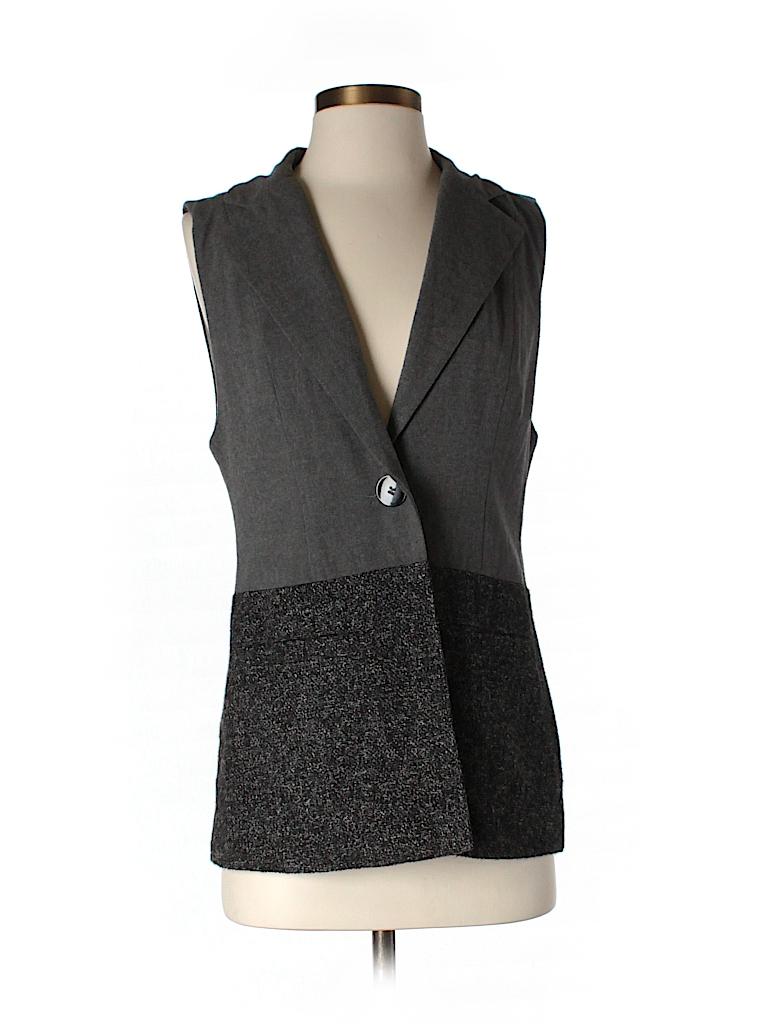 CAbi Women Tuxedo Vest Size XS