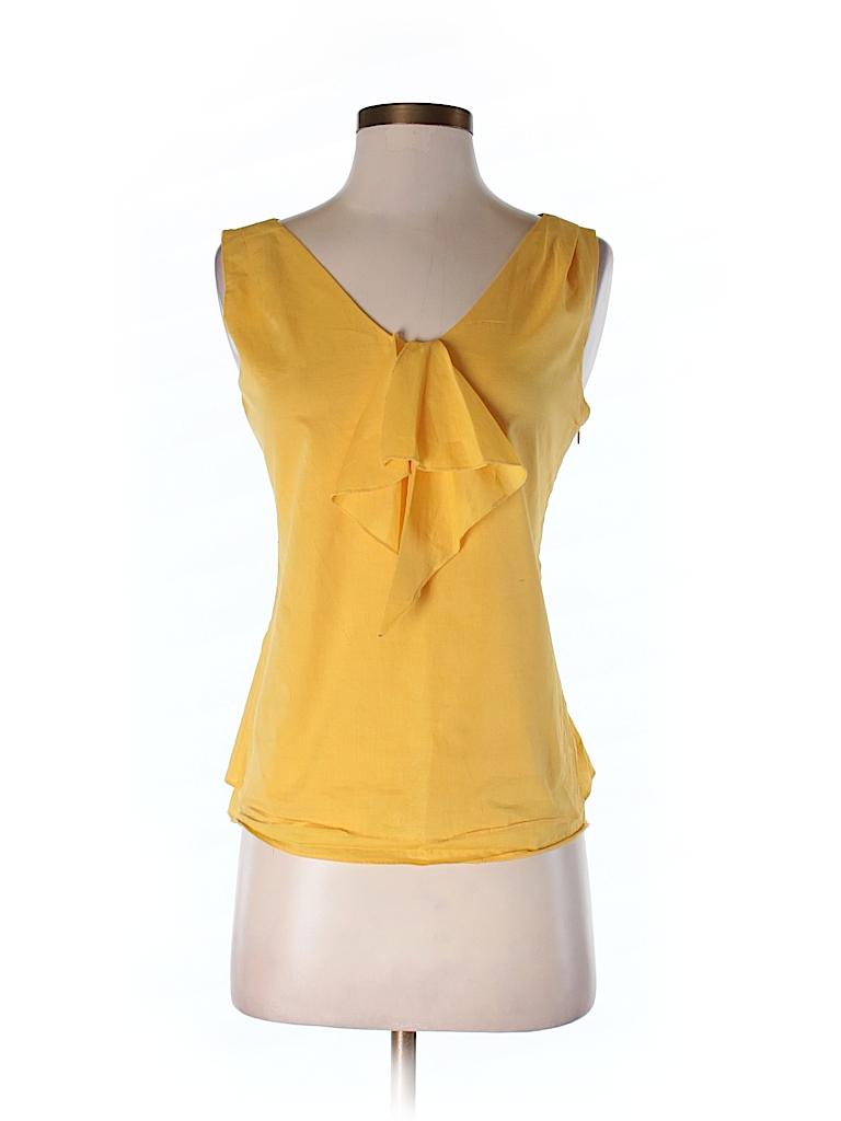 Moncollet Women Sleeveless Blouse Size 4