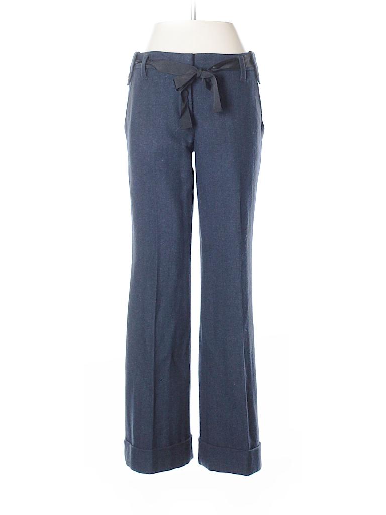 Ann Taylor LOFT Women Wool Pants Size 4 (Petite)