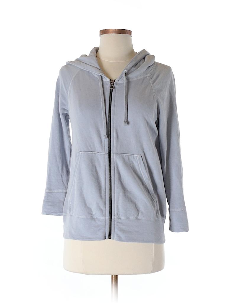 James Perse Women Zip Up Hoodie Size Sm (1)