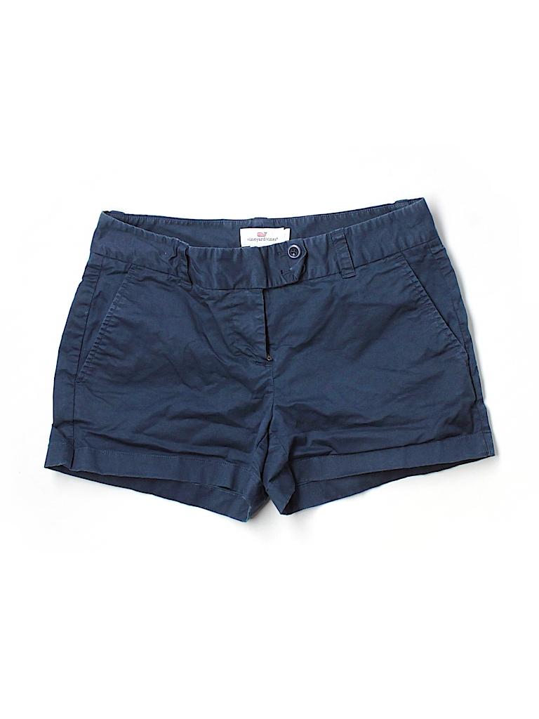 Vineyard Vines Women Khaki Shorts Size 2