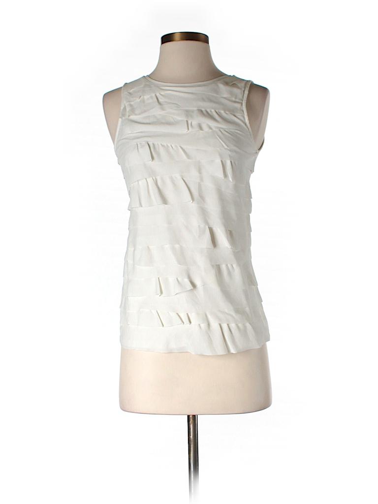 Ann Taylor LOFT Women Sleeveless Blouse Size XXS (Petite)