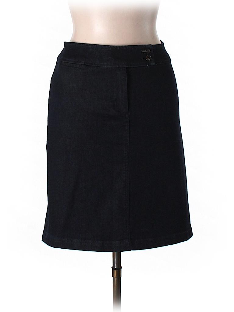 talbots denim skirt 89 only on thredup
