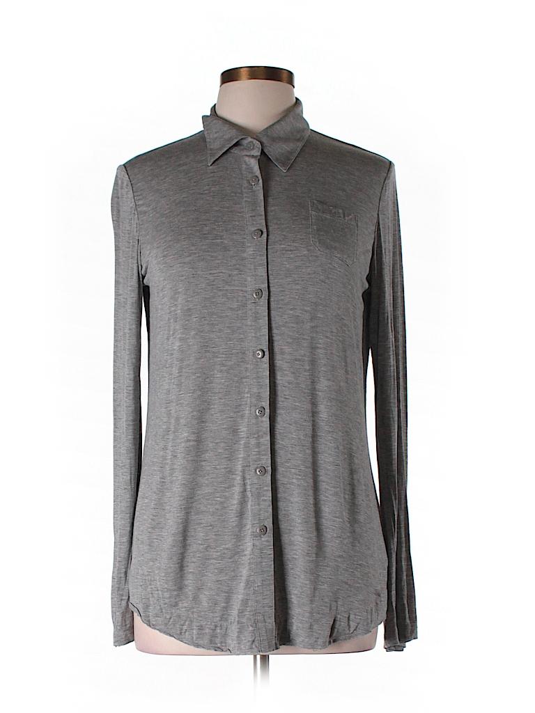 CAbi Women Long Sleeve Blouse Size M