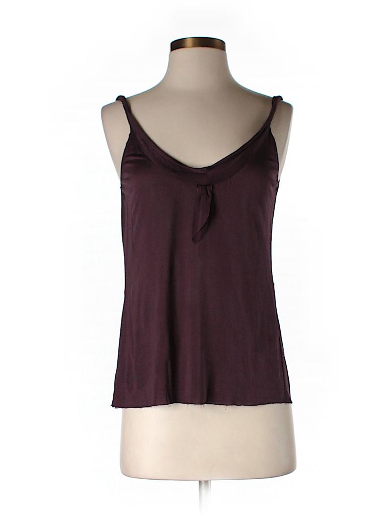Velvet Women Sleeveless Silk Top Size P