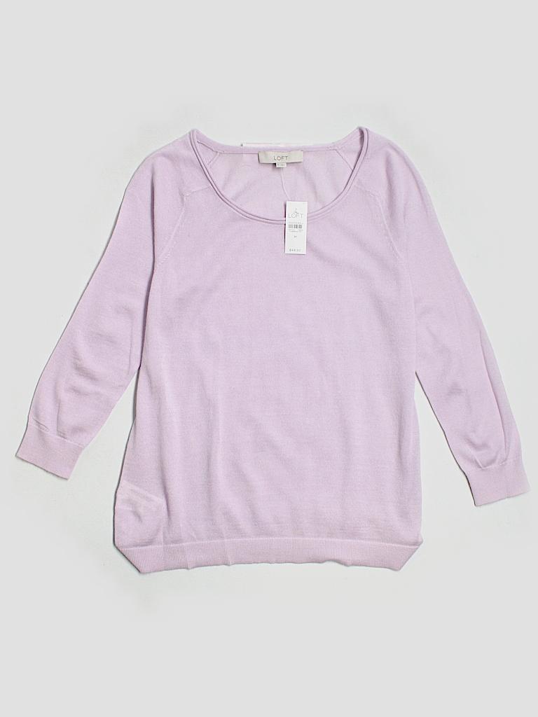 Ann Taylor LOFT Women Wool Pullover Sweater Size M