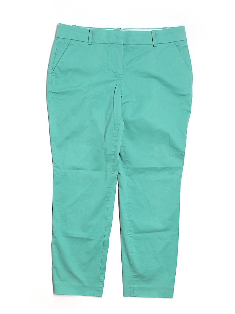 J. Crew Women Leather Pants Size 4
