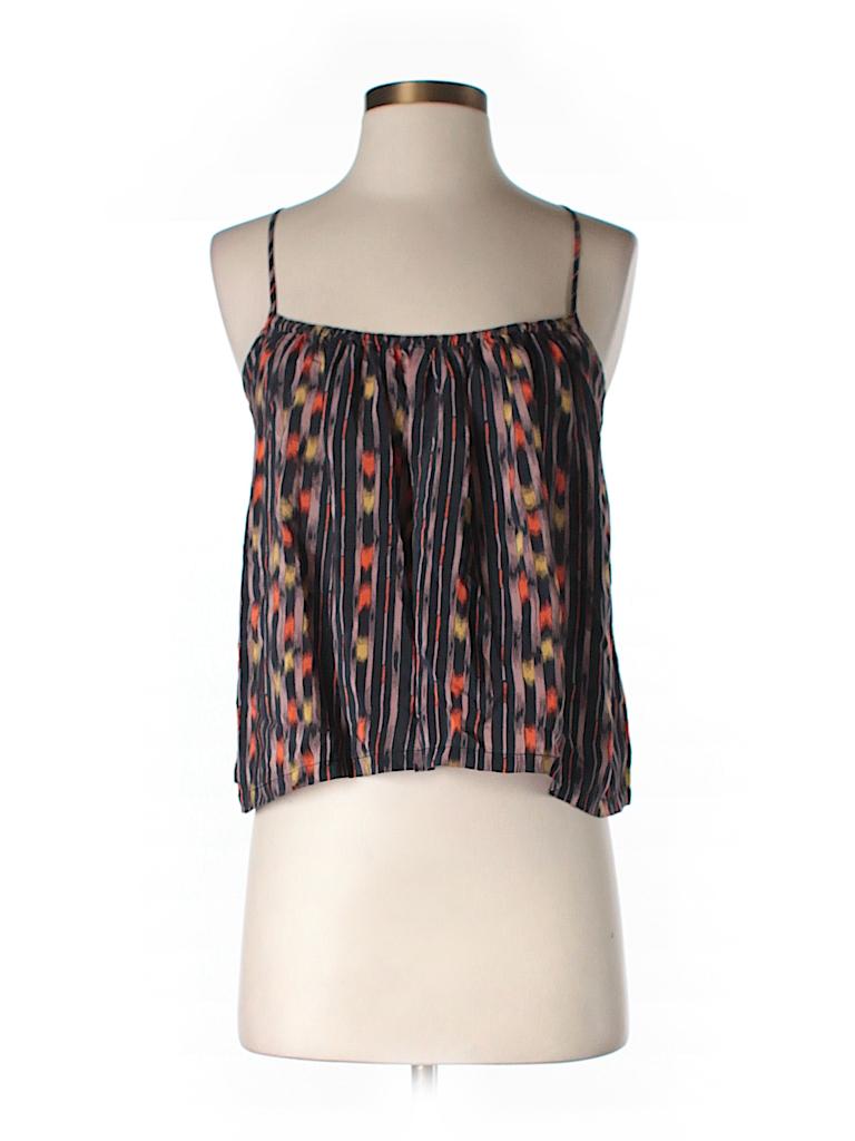 Ecote Women Sleeveless Silk Top Size XS