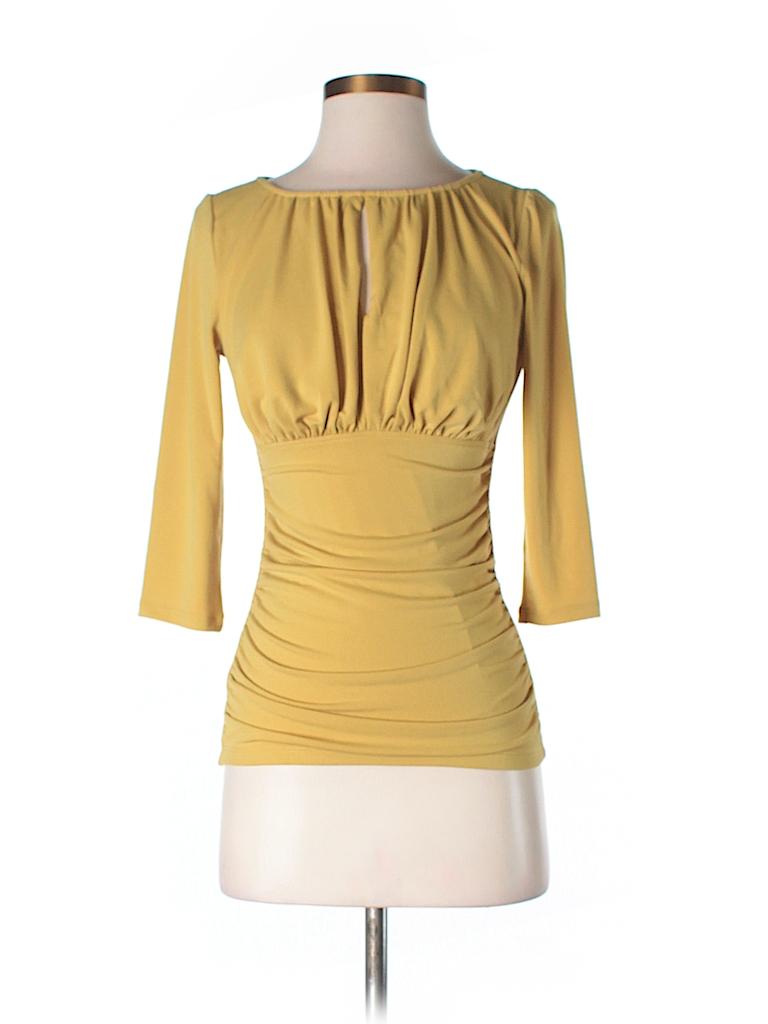 Ann Taylor Women 3/4 Sleeve Top Size XXS