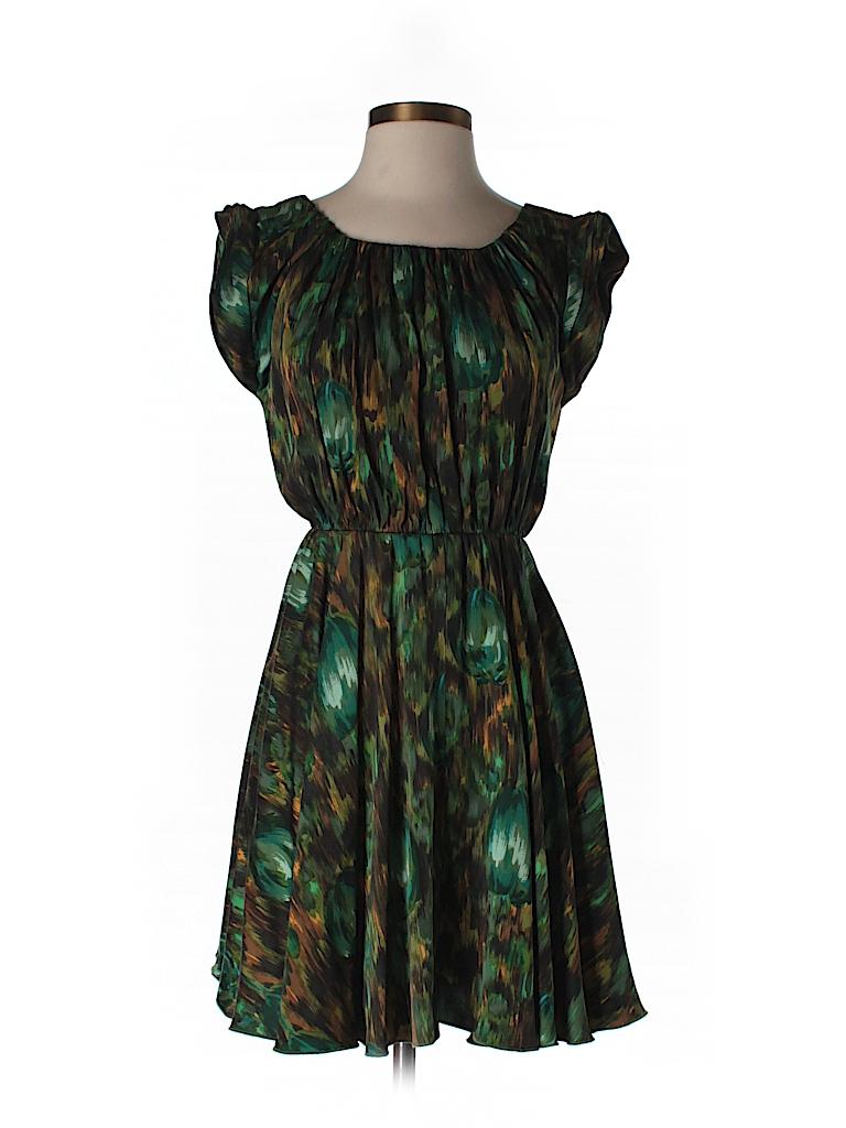Alice + olivia Women Silk Dress Size XS